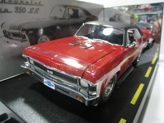 1/18 GMP Chevrolet 1968 SS NOVA 350 muscle male alloy models(China (Mainland))