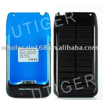 Solar Battery Cover ,Case,Charger,Protector For iPhone 3G&3GS!free shipping by EMS!20pcs/lot!