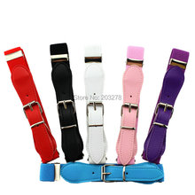 Candy Color Kids belt Children Elastic Waist Belt For Boys/Girls 1 Inch Wide Boys Clothing Accessories(China (Mainland))