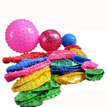 Новый Толстые Надувные Пляж фитнес-массаж мяч игрушки для детей случайный одна часть