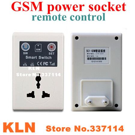 Дистанционный выключатель Konlen sms gsm sim KLN-SC1-GSM датчики сигнализации kln 433 2262 kln pms01