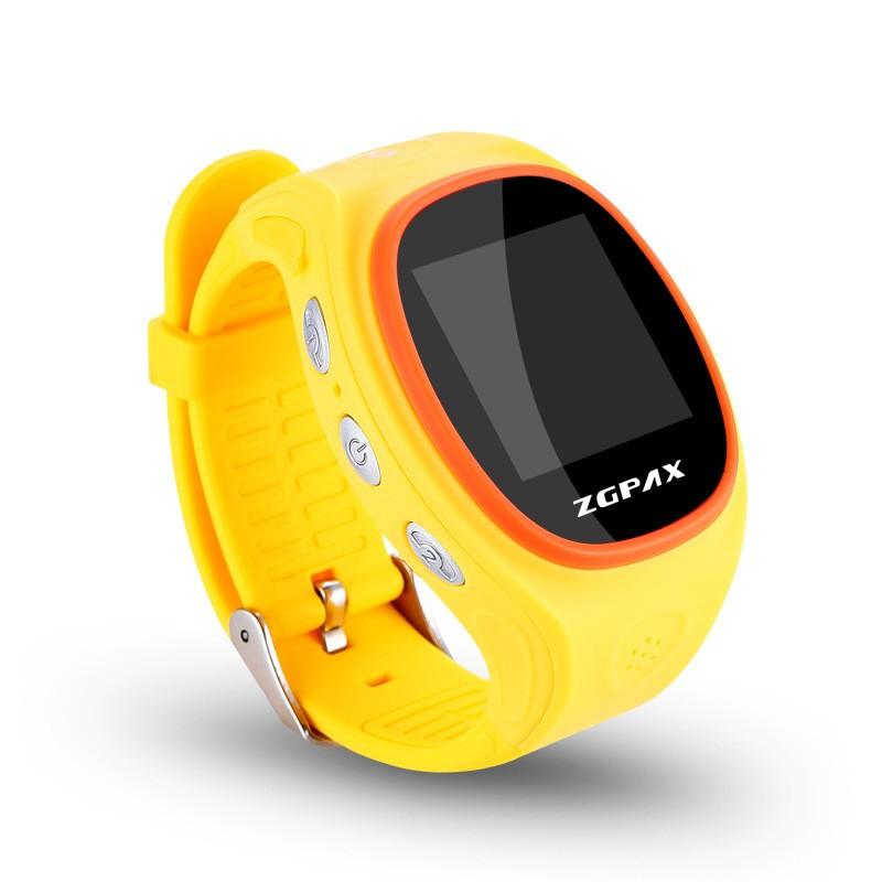 ถูก ที่ดีที่สุดเด็กgps watch ZGPAX S866 gps watchทั่วโลกการดูแลสมาร์ทดูคุณสมบัติAPP IOS GPS LBS WIFIบลูทูธSOS Telemonitoring
