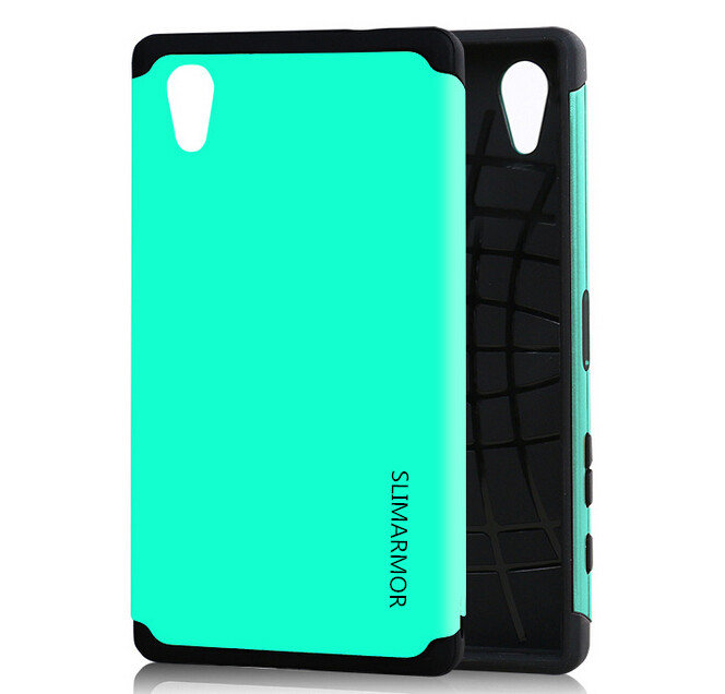 Гаджет  Newest For xperia sony z5 Case Luxury Hybrid Dual Layer Impact Heavy Duty Rugged 2in1 Cover for sony xperia z5 5.2