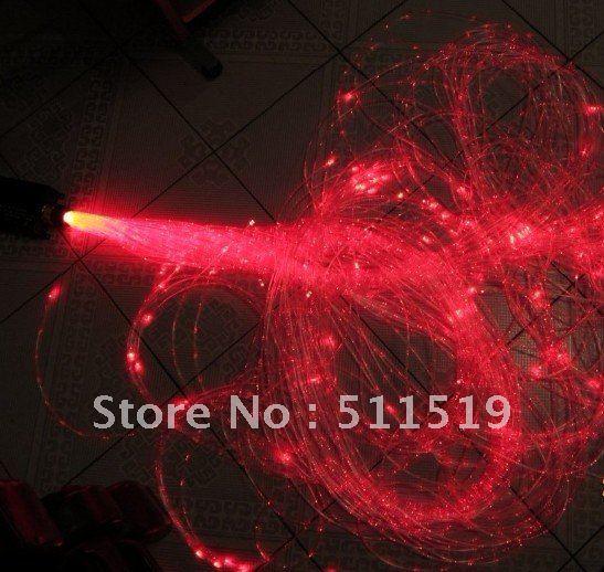 special toys sensory fiber optic kit with 60pcs sparkle fiber optic light strands 4m long+16W LED RGB light source(China (Mainland))