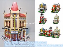 LEPIN 15006 Creators series the Palace Cinema Model Building Blocks Classic Compatible 10232 Architecture house Toy for children(China (Mainland))