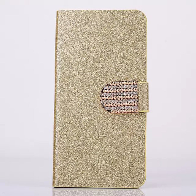 2016 Luxury Glitter Case For Nokia Microsoft Lumia 532 Cover Original Flip Book Minion Diamond Phone Bag With Card Holder(China (Mainland))