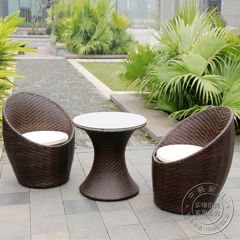 ikea coffee table rattan chair three piece outdoor furniture leisure chairs nest balcony chairs. Black Bedroom Furniture Sets. Home Design Ideas