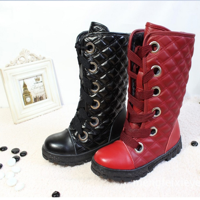 2014 winter fashion cheap princess snow boots children