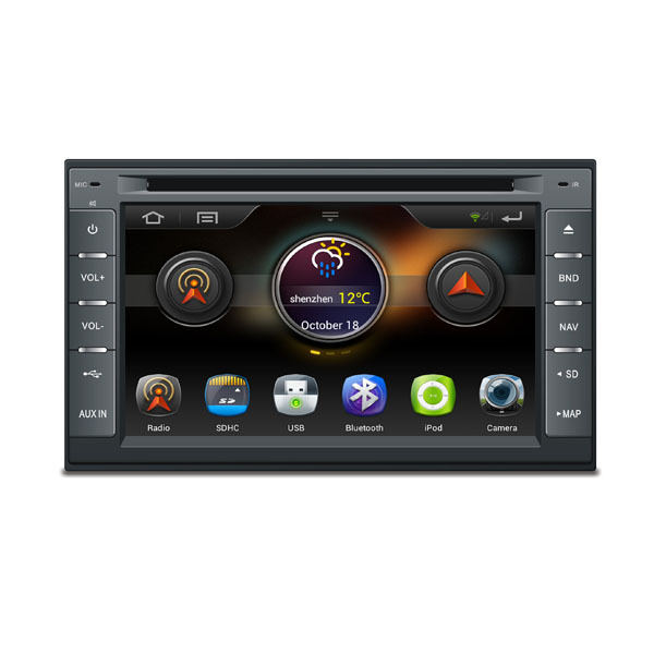 Android 4.1 Capacitive Multi-touch Screen 3G Wifi 2 Din Car DVD GPS Universal With Radio Bluetooth Ipod SD/USB Support OBD(China (Mainland))
