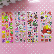 Reward 3D speech bubbles stickers children up puffy sticker kindergarten early childhood educational toys mobile phone stickers,(China (Mainland))