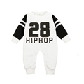 Baby Rompers Long Sleeve letter print Baby Girl Clothing Jumpsuits Autumn Clothing Set Newborn Baby Clothes