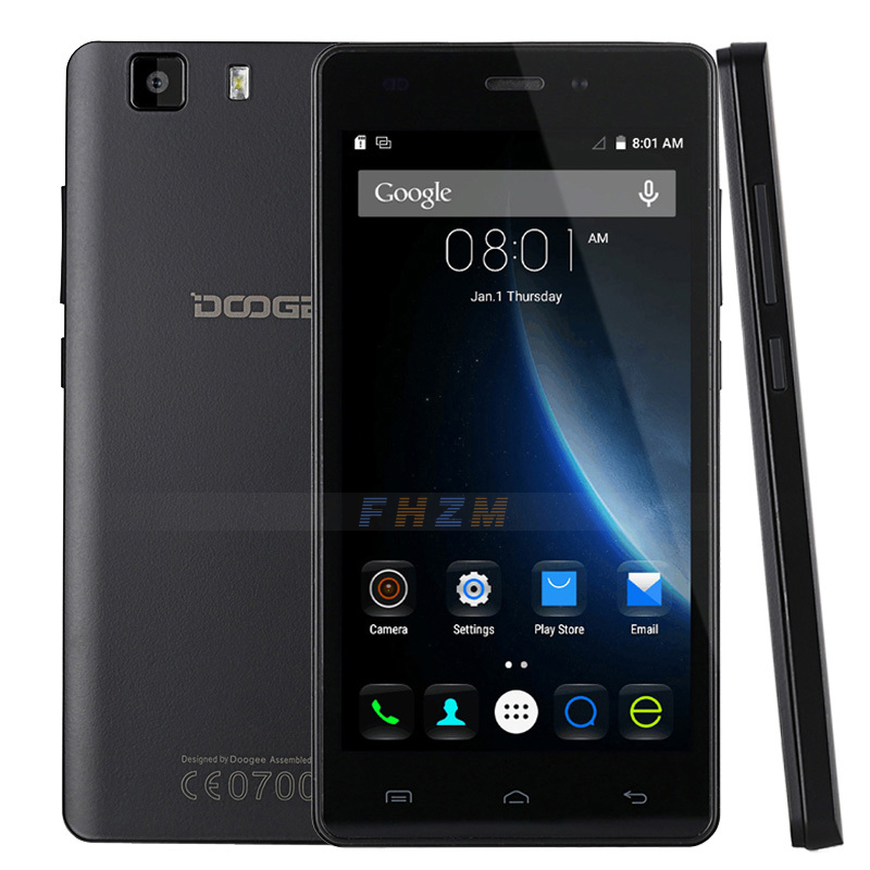 DOOGEE X5 MTK6580 Quad Core 5.0 inch display Android 5.1 Cheap 3G Smartphone Support OTG GPS WIFI Dual SIM card Mobile phone(China (Mainland))