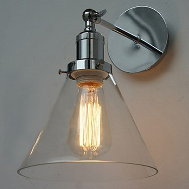 Metal American Edison Loft Style Vintage Wall Lights With 1 Light,For Home Living Lightings,E27 Bulb Included,AC 90V~260V<br><br>Aliexpress