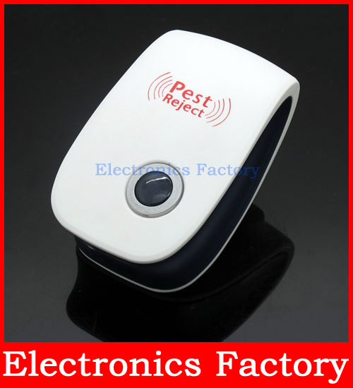 22-65KHz Electromagnetic Mosquito Killer Ultrasonic Pest Insect Mouse Rat Anti Repellent Cockroach Repeller Reject EU Plug(China (Mainland))