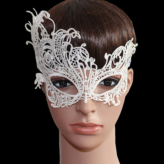 Sexy Lace Eye Mask Party Masks For Halloween Venetian Costumes Elegant Prom Party Dress Lace Eye Face Mask Masquerade W1(China (Mainland))