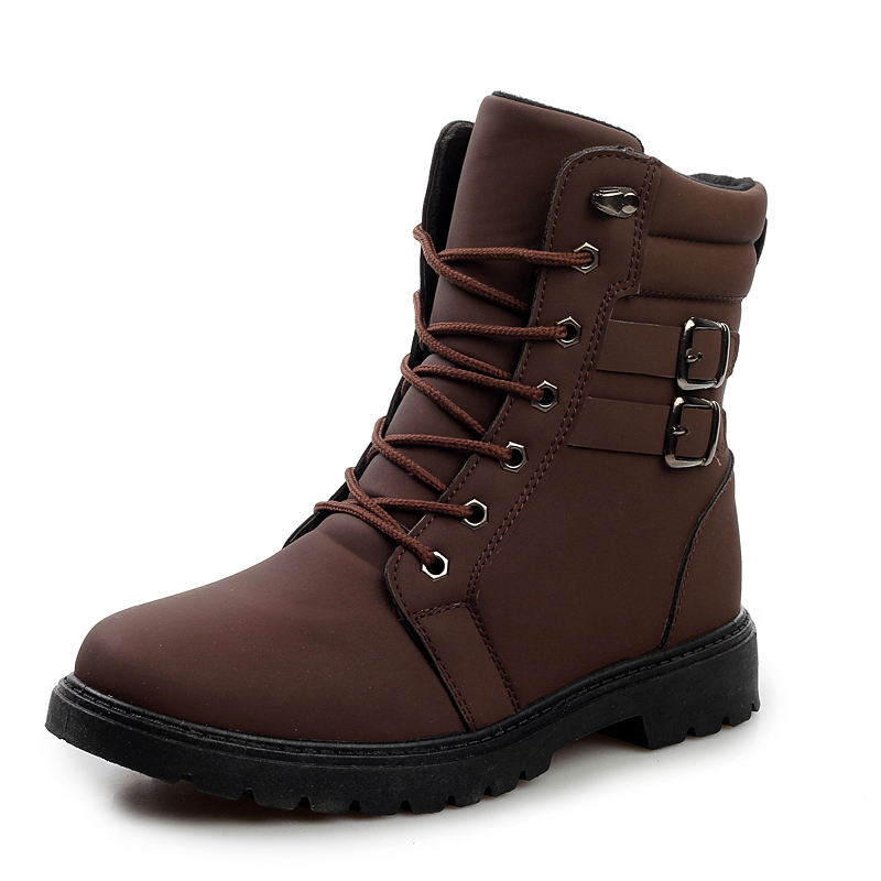 Men's Autumn/Winter Motorcycle Martin Boots Botas New 2014 Casual Pu Army Ankle Oxford Boot Shoes Sapatos(China (Mainland))