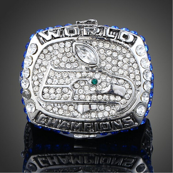NFL 2014 Seattle Seahawks Super Bowl Championship Rings American Football World Champion Rings Men Classic Collection Jewelry(China (Mainland))