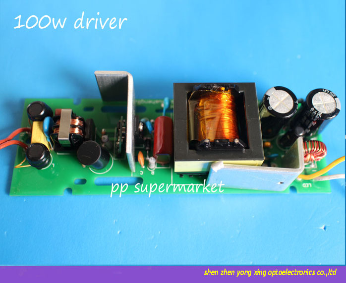 100w led built-in drive bare board for mining lamp lights drive power(China (Mainland))