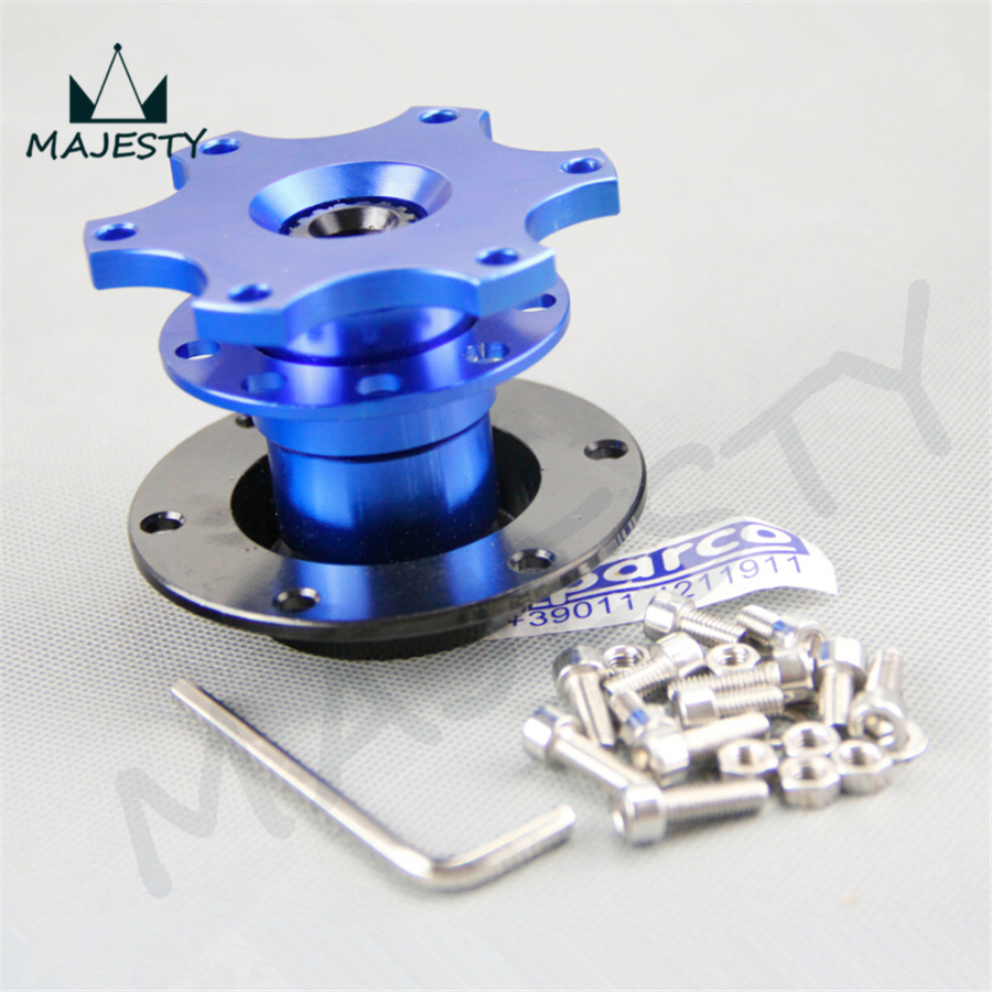 Steering Wheel Quick Release Hub Adapter Removable Snap Off Boss brand new blue<br><br>Aliexpress