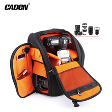 Buy CADeN Camera Bags DSLR Photo Video Backpack Waterproof Polyester Black Protective Bag Case Dslr Camera Nikon Canon Sony K5 for $46.88 in AliExpress store