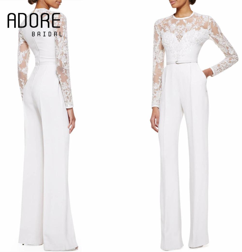 popular bride jumpsuit buy cheap bride jumpsuit lots from china bride jumpsuit suppliers on. Black Bedroom Furniture Sets. Home Design Ideas