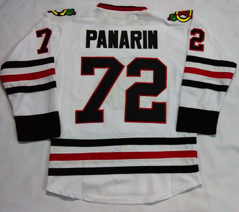 2016 New Chicago Blackhawks Customized Mens Jerseys #72 Artemi Panarin White Ice Hockey Jersey 3990
