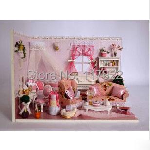 Здесь можно купить  Free shipping Creative DIY gift hut with princess diaries acoustic music like a doll house  Игрушки и Хобби
