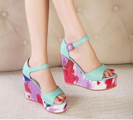 Creative 2014 Summer Fashion Slippers Women Sandals Flops Flat Shoes Open Toe