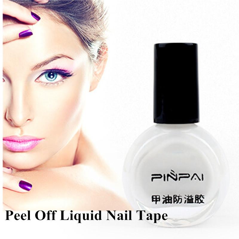 10ml Anti-overflow Peel Off Nail Art Polish Glue Latex Liquid Tape Palisade Beauty Gift(China (Mainland))