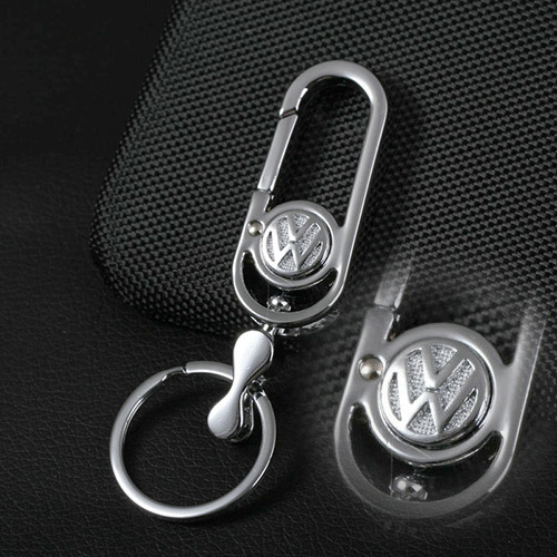 VW Emblem Volkswagen Keychain for Golf 7 4 5 6 Polo Passat B6 B5 Tiguan (2 Pieces): Car Styling Auto Key Rings Free Shipping(China (Mainland))