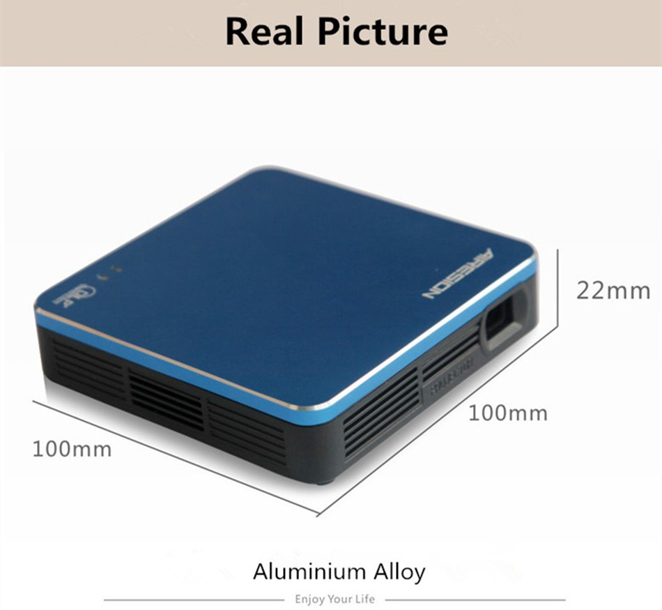 2016 new wifi portable mini projector miracast airplay for Pocket projector reviews 2016
