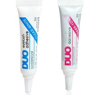False Eyelash glue DUO anti-sensitive hypoallergenic DUO Eyelash glue (black white glue) wholesale(China (Mainland))