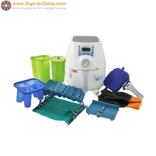220V Mini 3D Sublimation Vacuum Heat Press Machine China for Phone Cases, Mugs and Plates Heat Transfer(China (Mainland))