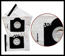 Free Shipping to RU! Vacuum Cleaner Bags rowenta zr814 Washable Dust Bag for RU40,RB51,Z53 etc.