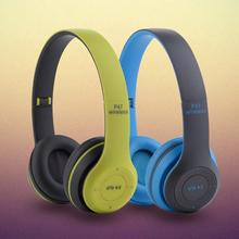 Estéreo Casque Bluetooth Gaming Auriculares Música Auriculares Deportivos Auricular Plegable Con Soporte de MICRÓFONO Inalámbrico de FM TF de Radio