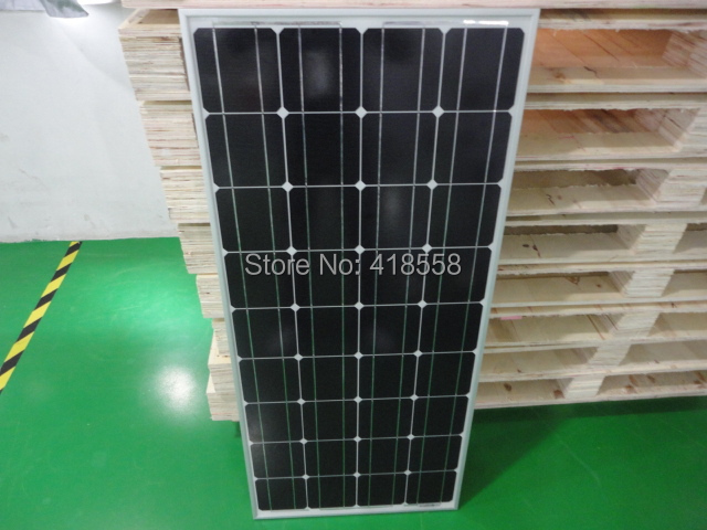 solar cell 200W 100w solar panel 2pcs solar cell 6x6 a grade 200W solar cell 17% charging efficiency 25 year maintenance(China (Mainland))