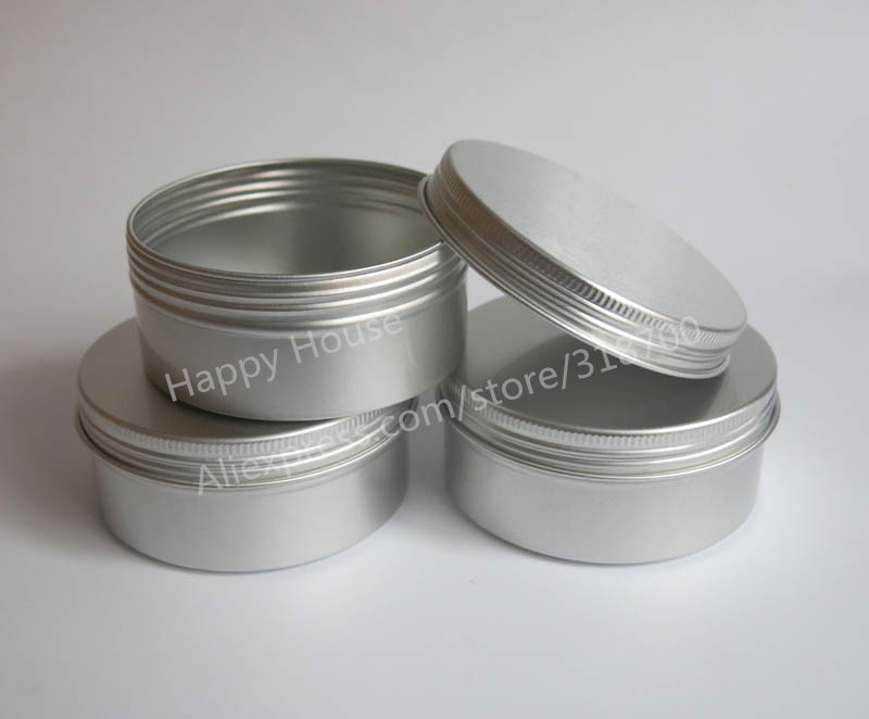 Free Shipping - 24 x 150g aluminum jars, 150 g aluminum case for powders, gels, cream use, 5 oz metal containers<br><br>Aliexpress