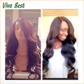 150 density 100 peruvian virgin body wave lace front wigs with full hair glueless full lace