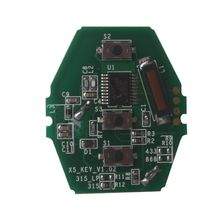 Buy YH Rechargeable Remote Key PCB Board 3 Button 315MHz/433MHZ/868MHZ BMW E90 E60 2003-2006 CAS2 System for $43.15 in AliExpress store