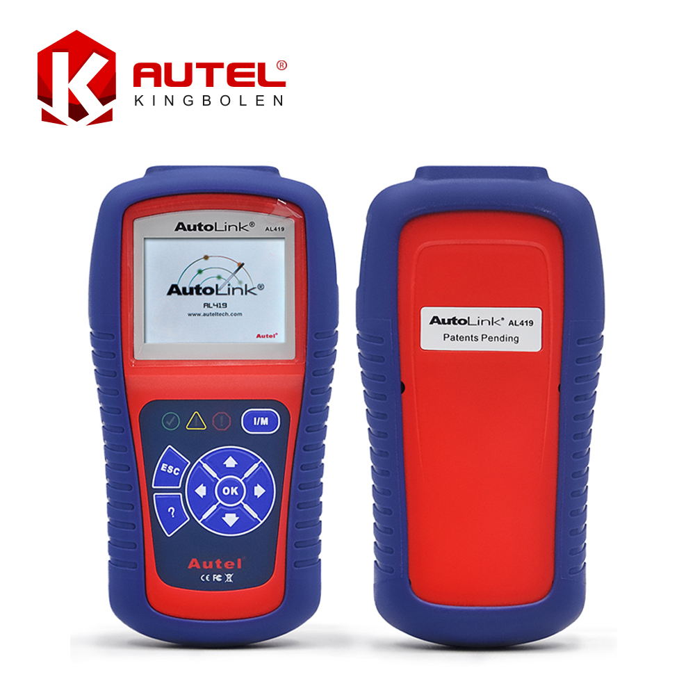 Autel AutoLink AL419 OBD II and CAN Scan Tool Update Via Official WebsiteProfessional Auto Code reader(China (Mainland))
