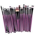 20Pcs Rose gold Makeup Brushes Set Pro Powder Blush Foundation Eyeshadow Eyeliner Lip Cosmetic Brush Beauty