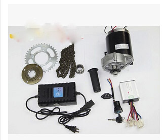 DC 450W 24V brushed gear motor electric bicycle conversion kit,light electric tricycle kit,DIY kit MY1020Z(China (Mainland))