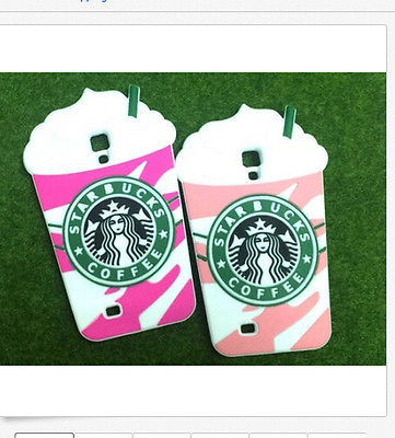 New fashion silicone coffee cup case For Samsung Galaxy S4 I9500 free shopping(China (Mainland))