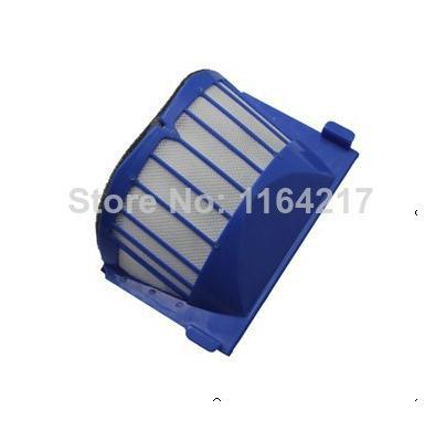 3 Piece Replacement Filter for iRobot Roomba AeroVac 550 551 552 564 595 630 650 Blue Filter Vacuum Cleaner Accessories(China (Mainland))