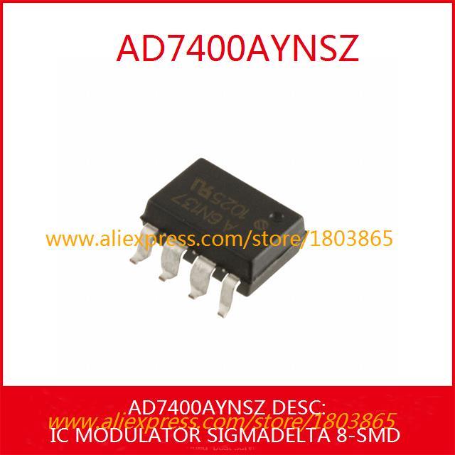 Free Shipping Diy Integrated Circuits AD7400AYNSZ IC MODULATOR DELTA 8-SMD 7400 AD7400 1pcs(China (Mainland))