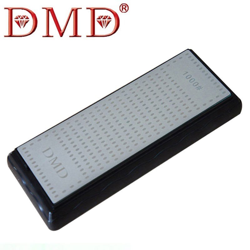 Buy 1PC High Quality DMD Double-Sided Diamond Coated whetstone Knife Sharpening Stone Sharpener 200x70x8mm LX1403 cheap