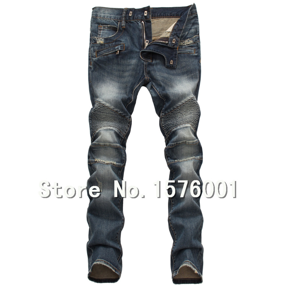 winter balman brand famous denim jeans men skinny 2015. Black Bedroom Furniture Sets. Home Design Ideas