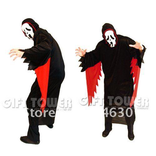 Мужской Бог тьмы одежда поставки партии Хэллоуин партии веревочка крышки из двух частей набор Хэллоуин реквизит маскарадные костюмы