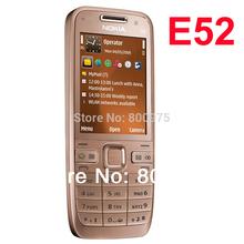 Original Nokia E52 Mobile Phone Bluetooth WIFI GPS E52 3G Cell Phone Russian Keyboard Arabic Keyboard & One year warranty(China (Mainland))