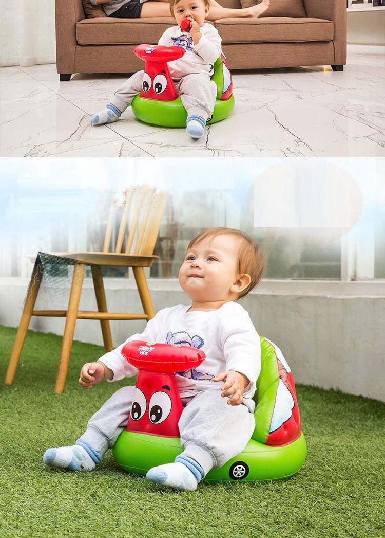 Новый 2015 мультфильм надувные ребенок stools дети учатся детское кресло маленький надувной диван портативный председатель костюм 3 м до 24 м